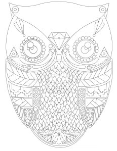 Aztec Owl
